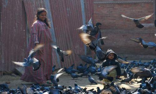 Zdjęcie NEPAL / Dolina Kathmandu / Kathmandu - Thamel / Przelotna chwila :)