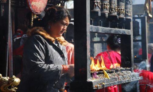 Zdjęcie NEPAL / Dolina Kathmandu / Patan / Obrzędy religijne