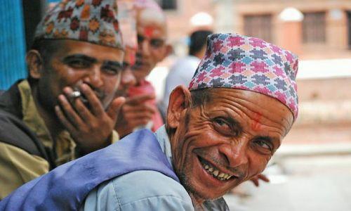 Zdjecie NEPAL / kathmandu / patan / smile!