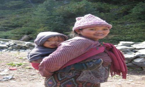 Zdjecie NEPAL / Himalaje / Himalaje. / Nepali faces