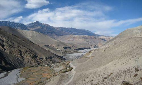 Zdjecie NEPAL / Himalaje / w drodze do Jomsom / dolina Kali Gan