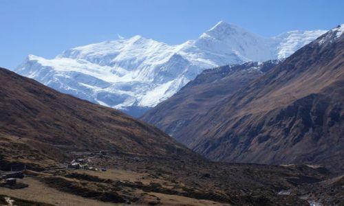 Zdjecie NEPAL / Madhja-Paśćimańćal Wikas Kszetr  / okolice Annapurny / Widok na Annapurnę