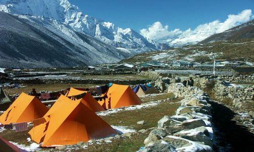 Zdjecie NEPAL / Khumbu / Dingboche / Obóz w Dingboch
