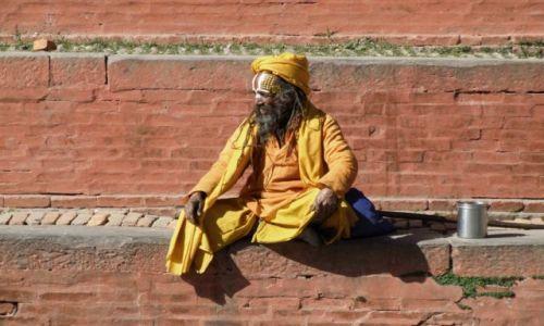 Zdjęcie NEPAL / Dolina Katmandu / Bhaktapur / sadhu