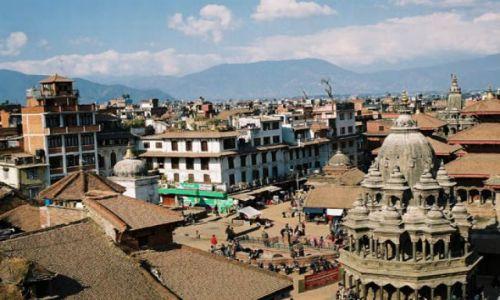 NEPAL / Dolina Kathmandu / Patan / Durbar Square