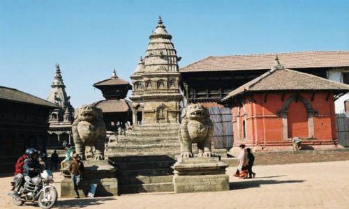 Zdjecie NEPAL / Dolina Kathmandu / Bhaktapur / Durbar Square