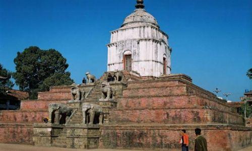 NEPAL / Dolina Kathmandu / Bhaktapur / Durbar Square