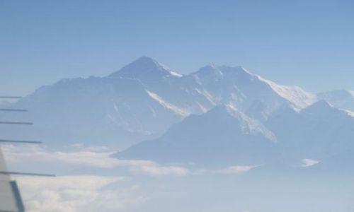 Zdjecie NEPAL / brak / Himalaje / Wcześnie rano - Everest - 8848m i Lhotse - 8516m