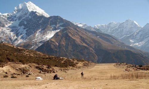 Zdjecie NEPAL / Khumbu Valley / Namche Baazar lotnisko / Namche Baazar