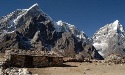 Zdjecie NEPAL / Khumbu Valley / Nepal / Cholatse z Tawoche Peak