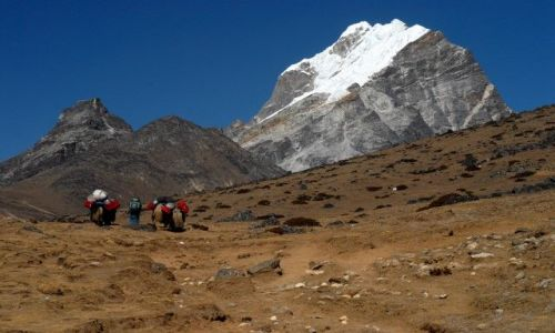 Zdjęcie NEPAL / Khumbu Valley / Nepal / Mehra Peak 5817m