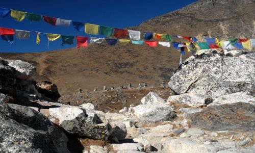 Zdjęcie NEPAL / Khumbu Valley / Nepal / Everest memorial