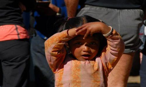 Zdjęcie NEPAL / Khumbu Valley / Nepal / Dziewczynka z Lukli