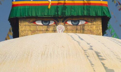 Zdjecie NEPAL / Kathmandu valley / Kathmandu / oczy Buddy