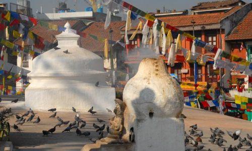 Zdjęcie NEPAL / Kathmandu valley / Kathmandu / Bodhnath Stupa
