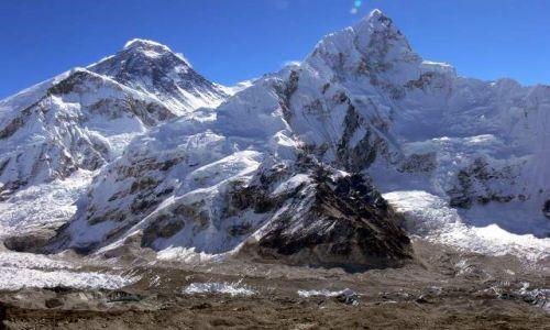 NEPAL / Himalaje / Kala Pattar / Everest i Nuptse