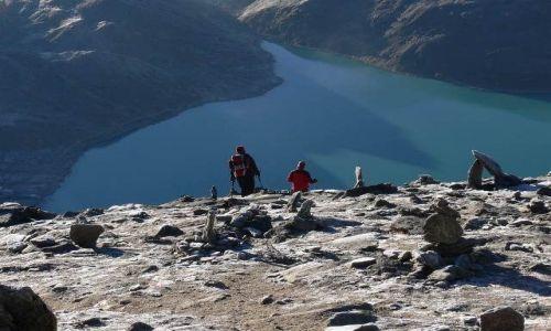 NEPAL / Himalaje / Gokyo / Zejście z Gokyo