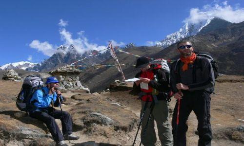NEPAL / Himalaje / Gokyo / W drodze do Namche Bazar