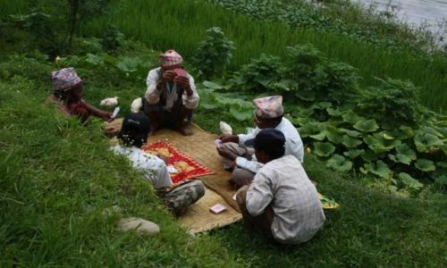 Zdjecie NEPAL / Pokhara / p / Karty