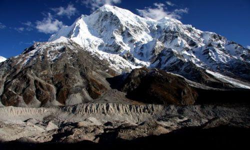 Zdjecie NEPAL / Langatang NP / Langtang / lodowiec langta