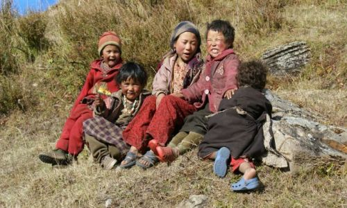 Zdjecie NEPAL / brak / Samdo / Dzieci gór 3860