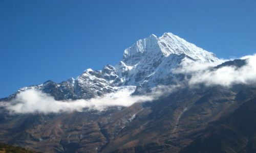 Zdjecie NEPAL / brak / Himalaje / Thamserku w białym szaliku