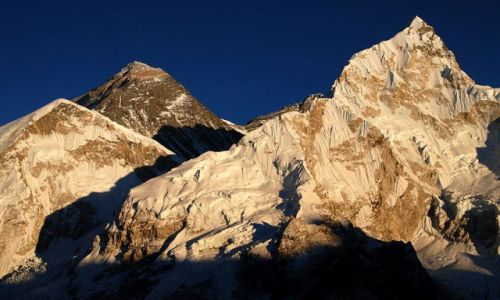 Zdjecie NEPAL / Himalaje Npelau / Solo Khumbu- Everest trekking / Everest i nuptse