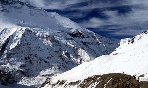 Zdjęcie NEPAL / Himalaje Nepalu / Trekking dookoła Dhaulagiri / Podejsce na przełecz Francuzów