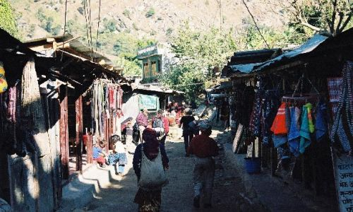NEPAL / Masyw Annapurny / Pokhara / Nayapul - punkt startowy