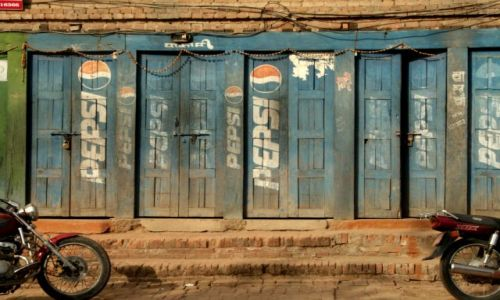 Zdjecie NEPAL / brak / Bakhtapur / Pepsi Cola (dla