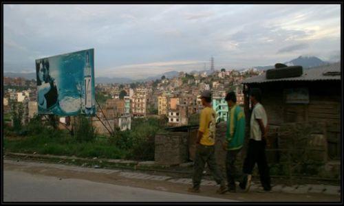 Zdjecie NEPAL / brak / peryferie Katmandu / jazda