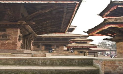 Zdjecie NEPAL / Kathmandu / Durbar Square / Durbar Square