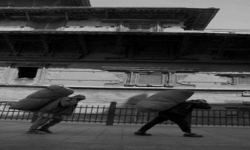 Zdjęcie NEPAL / durbar sq / kathmandu / ciężko...