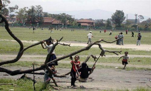 Zdjecie NEPAL / Kathmandu / Kathmandu / zabawa