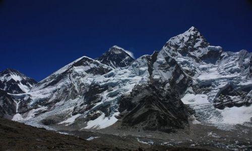 Zdjecie NEPAL / - / Widok na Mount Everest z Kala Patthar (5550 mnpm) / Mount Everest