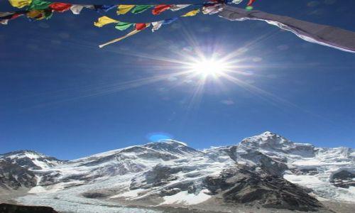 Zdjecie NEPAL / - / Widok na Mount Everest z Kala Patthar (5550 mnpm) / Najwy�ej