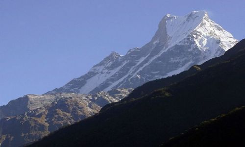 Zdjecie NEPAL / Annapurna / Annapurna Base Camp trek / Machhapuchhare 6993