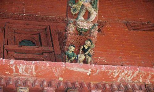 NEPAL / brak / Kathmandu - Durbar Square / świątynia Maju Deval