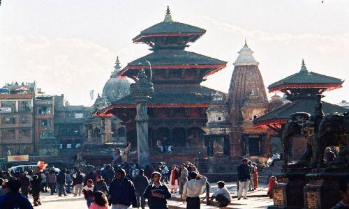 NEPAL / brak / Patan / Durbar Square