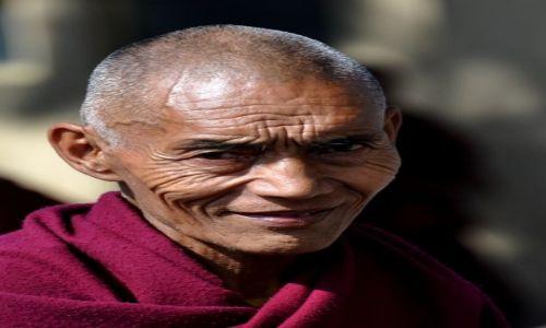 Zdjęcie NEPAL / Kathmandu / Kopan Monastery / mnich