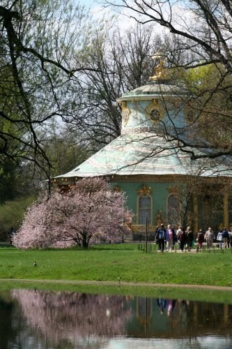 Zdj�cia: Potsdam, Brandenburgia, Spacer po parku, NIEMCY
