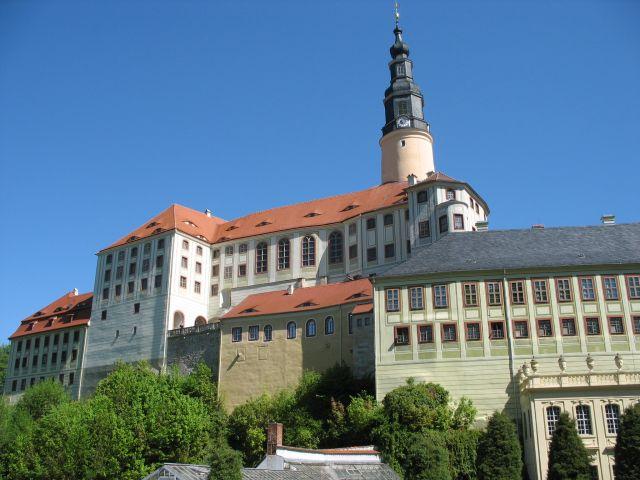 Zdjęcia: Weesenstein, wielce okazały zamek, NIEMCY