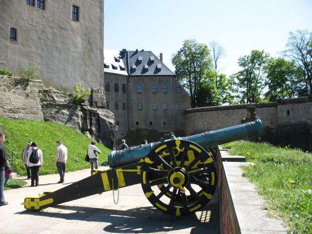 Zdjęcia: Konigstein, Saksonia, obrona twierdzy, NIEMCY