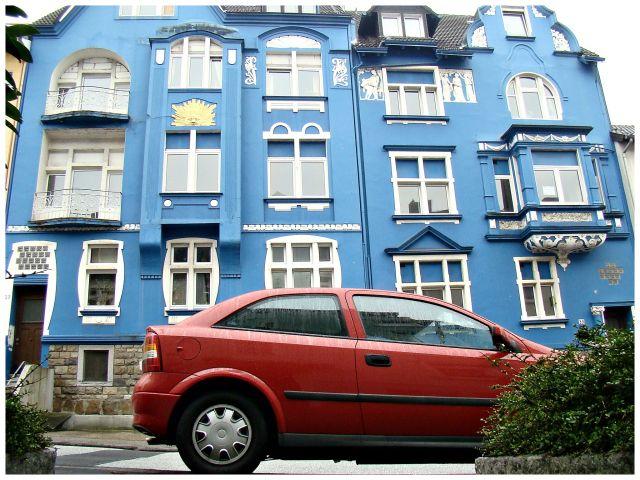 Zdjęcia: Wuppertal, Z niebieskim w tle, NIEMCY