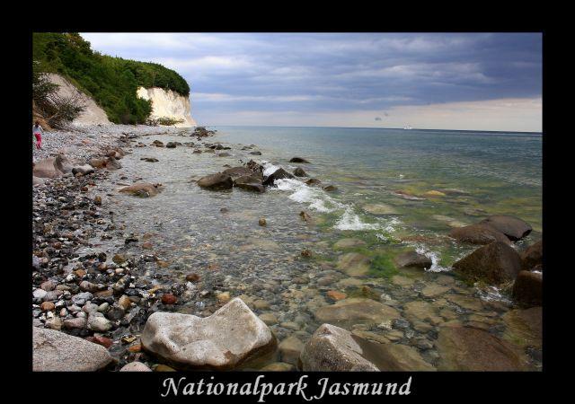 Zdjęcia: Klify, Rugia, Park Narodowy Jasmund, NIEMCY