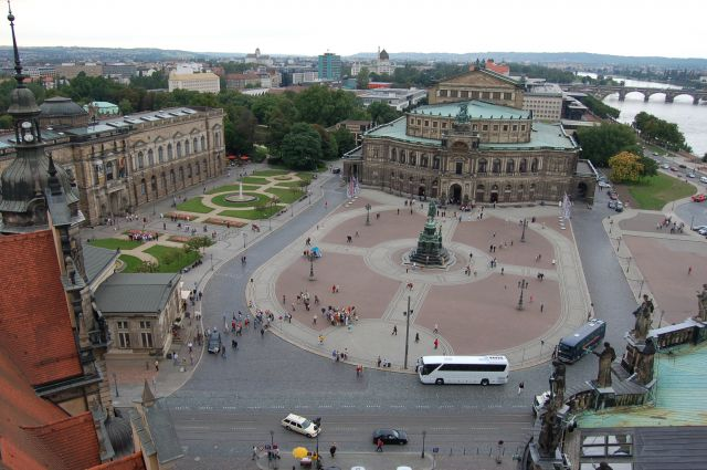 Zdjęcia: Drezno, Panorama miasta, NIEMCY
