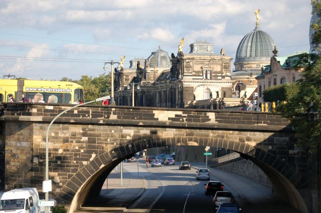 Zdj�cia: Drezno, Panorama Starego Miasta, NIEMCY