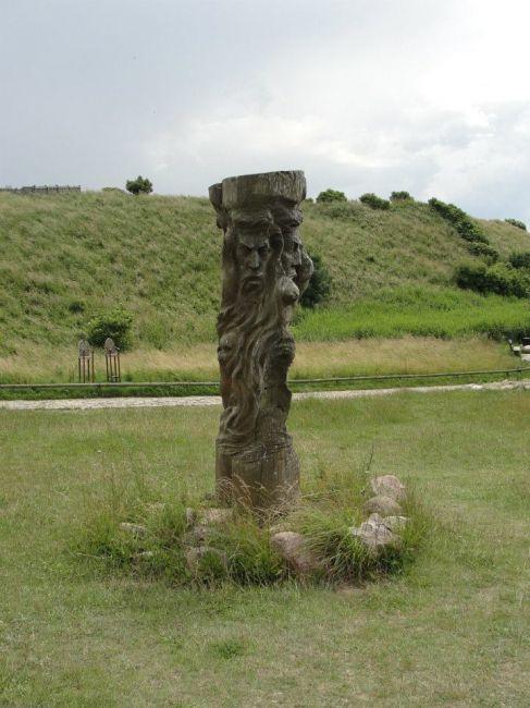 Zdjęcia: Kap Arkona, pomnik Światowida, NIEMCY
