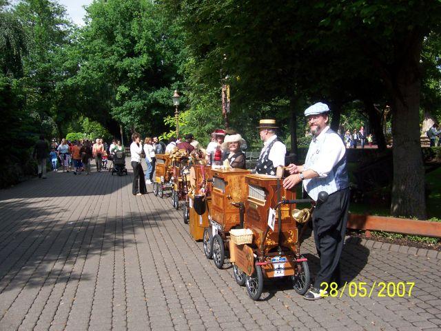 Zdjęcia: EUROPA PARK, Rust koło Freiburga, Jeszcze grają, NIEMCY