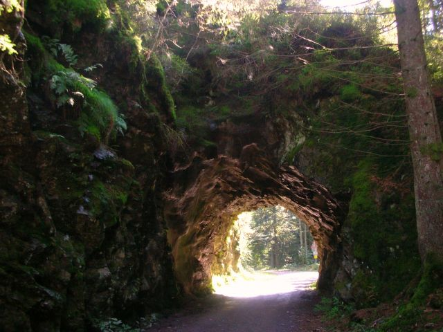Zdjęcia: murg, schwarzwald, felsen tunel, NIEMCY
